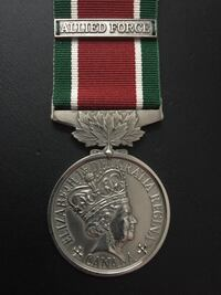 SCARCE Canadian General Service Medal (ALLIED FORCE) Brampton, L6P 2V5