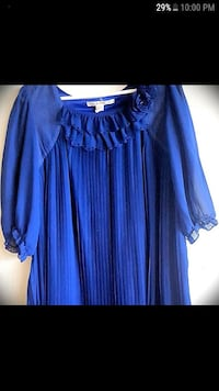 1920's Inspired Royal Blue Dress