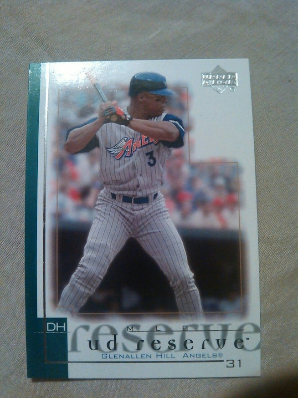 Glenallen Hill Angeles Baseball Trading Card