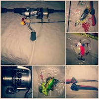 Fishing rode and tackle