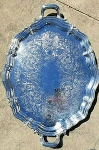Reed & Barton Winthrop Silverplate Serving Tray Suffolk, 23434