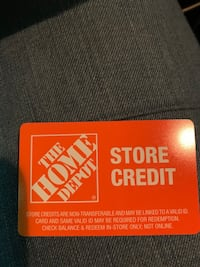 The home depot store credit Fairfax, 22031