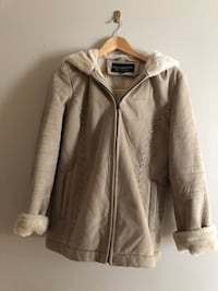 Winter coat size S (faux fur) (discounted)