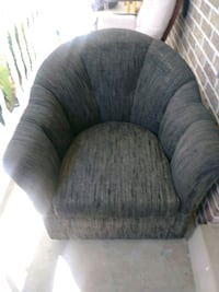 gray fabric padded sofa chair Temple Hills, 20748
