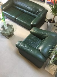 Excellent condition sofa bed and matching chair - original prices $1800 and $800 - both for only $500!! Vancouver, V6G 1T1