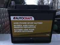 T16 AGM 12V Motorcycle/Lawnmower/Small Engine Autocraft Battery ヘイマーケット, 20169