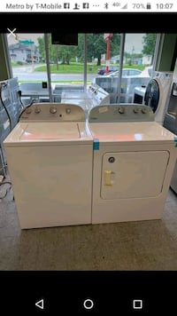 matching washer and dryer free delivery an install Indianapolis