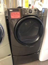 Kenmore elite front load electric dryer w/ped in perfect condition  Baltimore, 21223