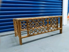 Wicker Coffee table base