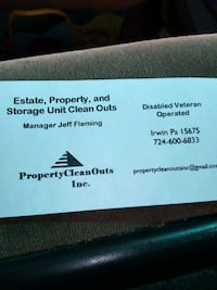 Property clean out  Delmont
