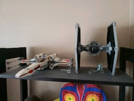 STAR WARS LEGO TIE FIGHTER AND X-WING (Original)