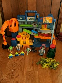 Toy Story Playset with Figures
