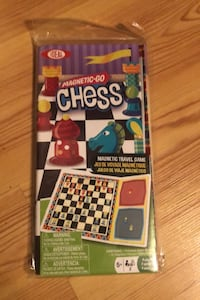 Magnetic Go/Travel Chess Board game