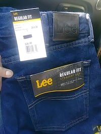 Lee Regular Fit Jeans 34x30 Athens, 30605