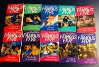 Enid Blyton - New 'The Famous Five' Series 10 books Reston, 20194