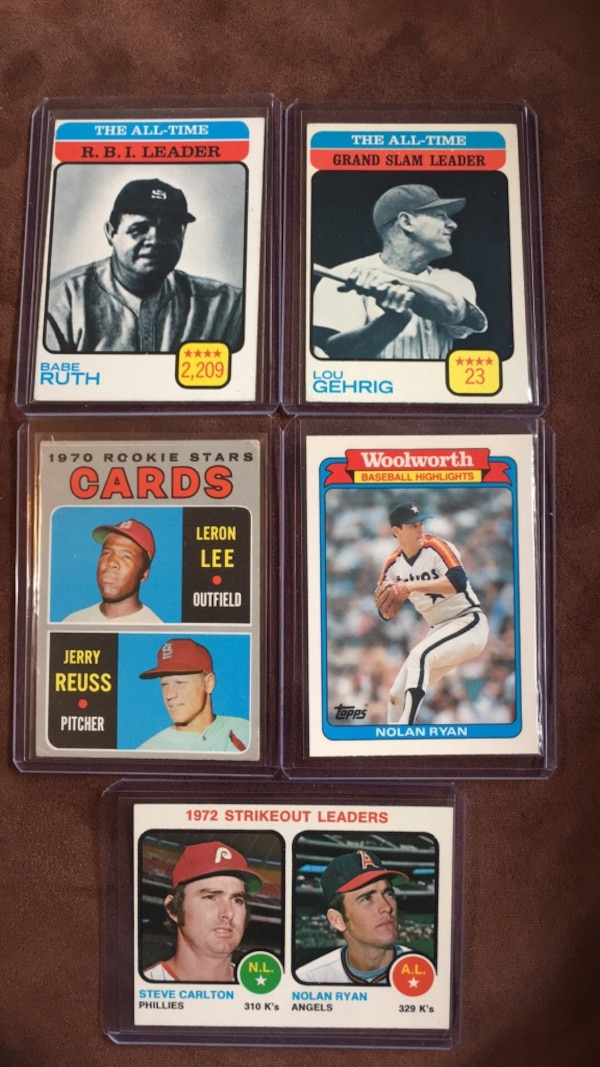 Used Vintage Baseball Cards For Sale In Vancouver Letgo