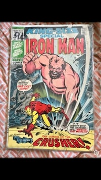 King Size special IRON MAN the coming of the crusher St Thomas, N5R 2K9