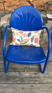 Vintage Metal Chairs - Blue.. Catonsville, 21228