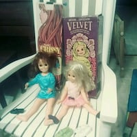 Crissy and Velvet from 1970 and 1971. Fremont, 43420