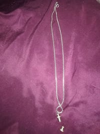 Surgical steel necklace and pendant.  Niagara Falls, L2G 2P9