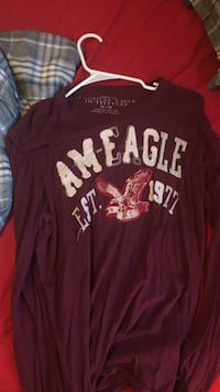 American Eagle M Long Sleeve Dowelltown, 37059