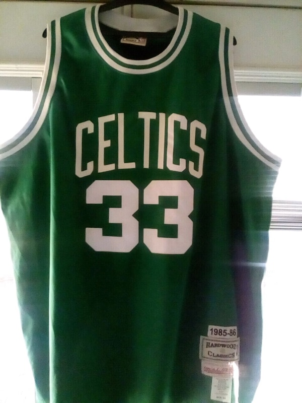 newest 08ca1 4ade8 Larry Bird Throwback Jersey