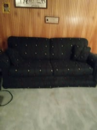Southwest pattern sofa bed and chair set