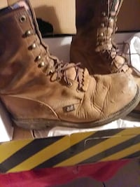 Mens size 10. 1/2 work boots.. San Angelo, 76903