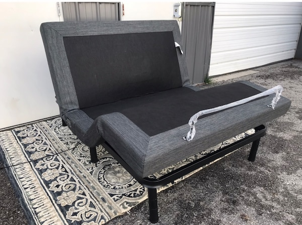 New Full Size Adjustable Bed Base With Massage And Remote Control