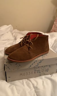 Suede Brown Short Boots