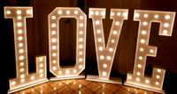 Marquee Letters (4 ft tall) Rental $50 each letter Vaughan