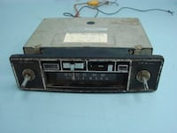 Vtg Radio 8 Track Tape Player AM/FM Car Vehicle Radio Replacement Stereo System Chesterton, 46304
