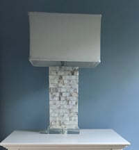 Mother of Pearl Lamp ($30/each) FAIRFIELD