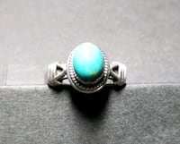 Sterling silver turquoise ring size 6.5 Albuquerque, 87109