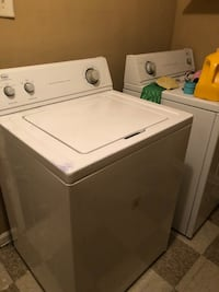 white top-load washer and dryer set Memphis, 38115