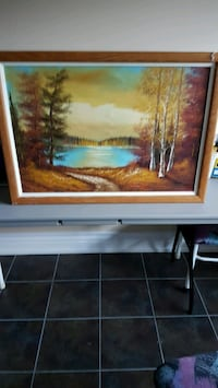!!! EARLY BLACK FRIDAY SPECIAL SELLING VINTAGE FRAMED PAINTING !!!  Mississauga, L5C 1G9