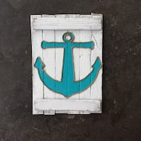 Reclaimed Wood Anchor Decoration