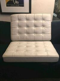 Barcelona white leather cushions Mississauga, L5B 2Y6
