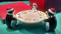 Waterford Holiday Heirlooms (snowy village penguin Eagleville, 19403