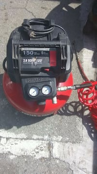 black and red Porter Cable air compressor Watsonville, 95076