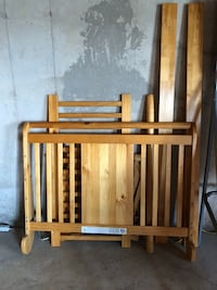 3 in 1 crib with matching dressers