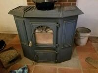 Blue coal stove Manchester, 17345