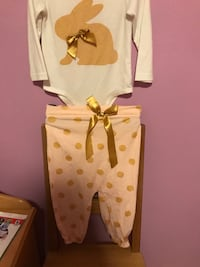 Bunny outfit baby size 90cm