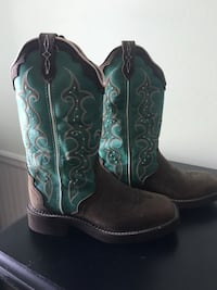Justin Boots 6 1/2 Like New! Foley, 36535