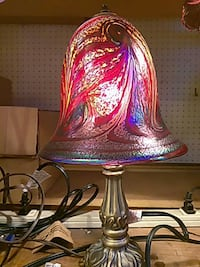 Rick hunter art glass lamp Philadelphia, 19147