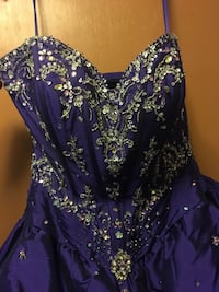 Gorgeous Purple quinceañera dress  Edmonton, T5B 2L6