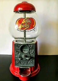 """VINTAGE 15""""in. JELLY BELLY COUNTERTOP COIN-OP. CANDY DISPENSER"""