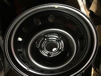"""4 brand new steel rims for Nissan Rogue Dot 2019 $280 17"""" Toronto, M9W 6T5"""