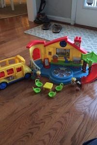 Little people school, bus, and people  Stafford, 22554