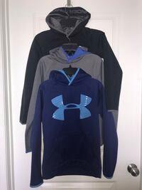 Boys Under Armour Hoodies (3) Size Youth Med